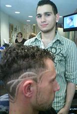 schrille Haarmuster